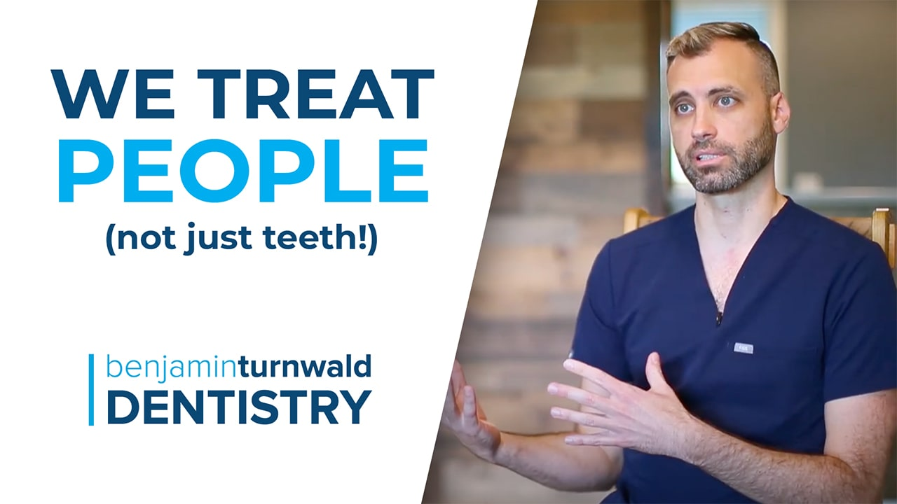 Thumbnail for we treat people not just teeth video